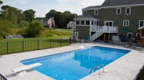 Concrete Pool Deck - 1