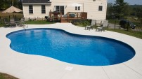 Concrete Pool Deck - 4