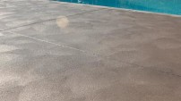 Decorative Concrete Pool Deck - 1