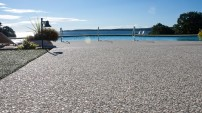 Decorative Concrete Pool Deck - 3