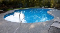 Decorative Concrete Pool Deck - 4