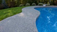 Decorative Concrete Pool Deck - 5