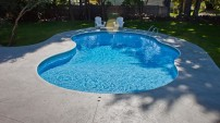 Decorative Concrete Pool Deck - 6
