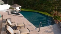 Natural Stone Pool Deck - 1
