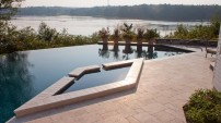 Natural Stone Pool Deck - 2