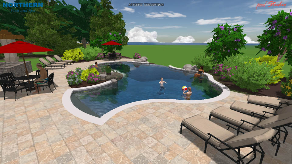 3d Swimming Pool Designs Northern Pool Spa Me Nh Ma