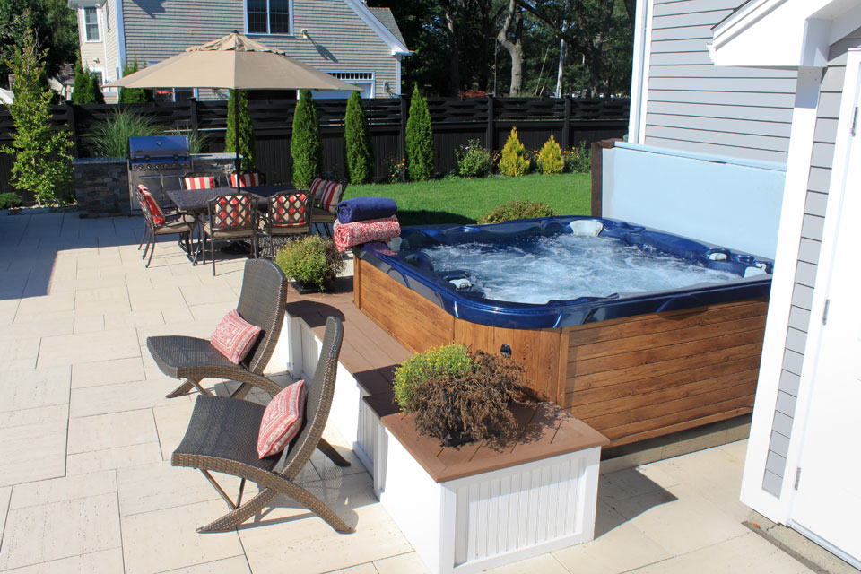Specialty pool features gallery northern pool spa me for Adara salon durham nh