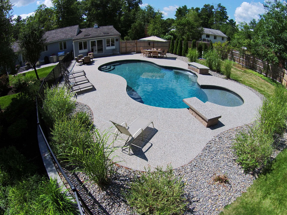 Specialty Pool Features Gallery Northern Pool Amp Spa Me