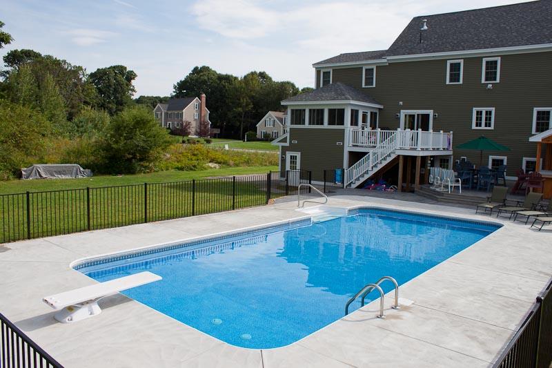 Pool design options northern pool spa me nh ma for Pool design options