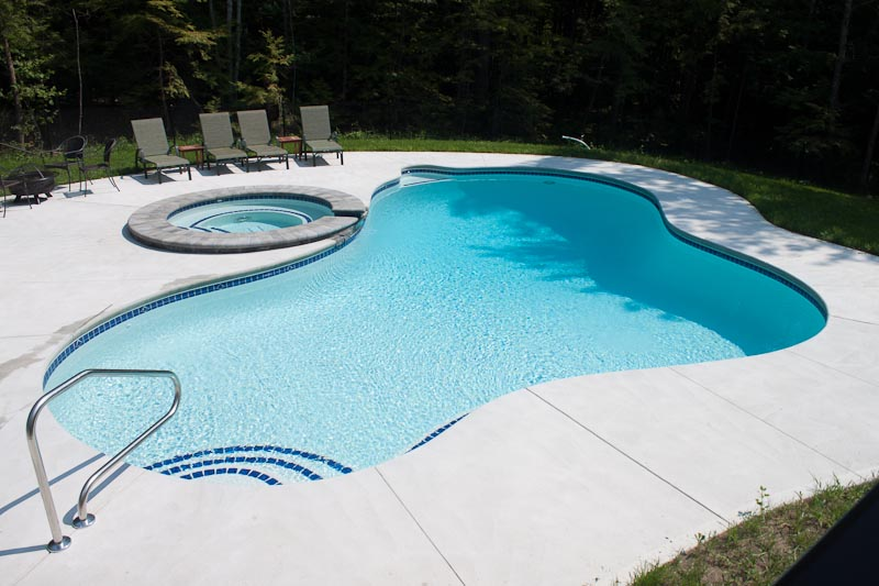 Scintillating pool deck colors ideas best inspiration for Pool design options