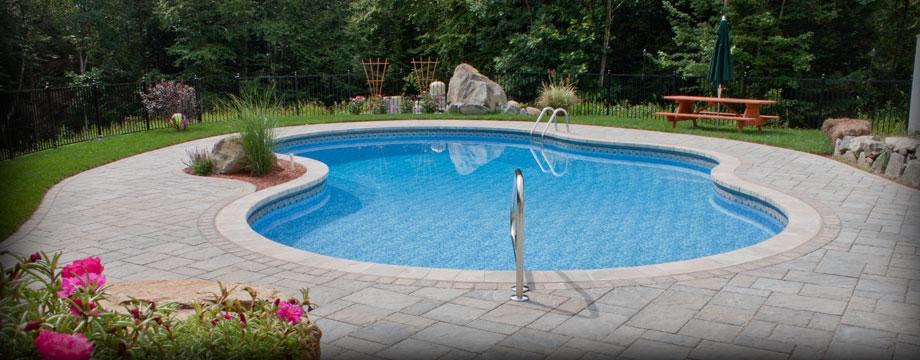 Acid Wash Gunite Pool : Inground swimming pools maine joy studio design gallery