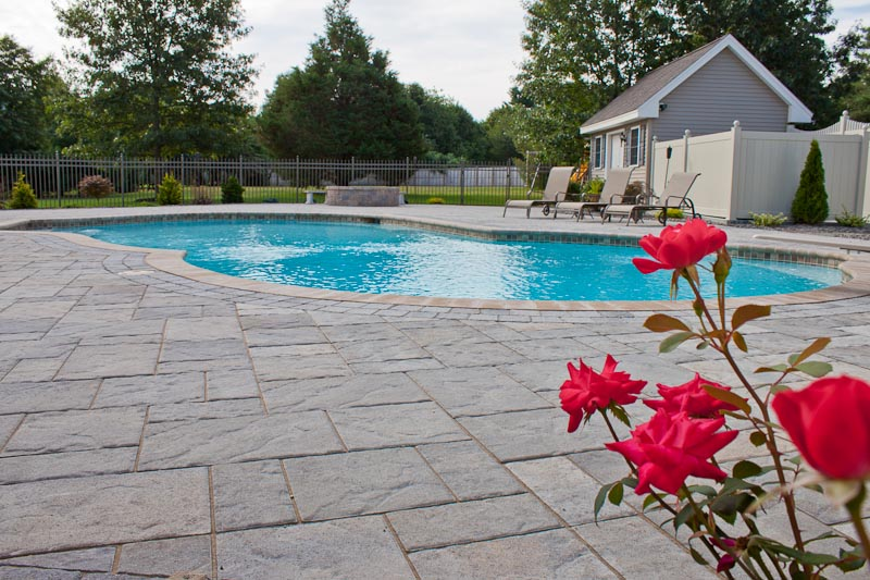 Simple 50 inground pool deck pavers design inspiration of for Pool design northern beaches