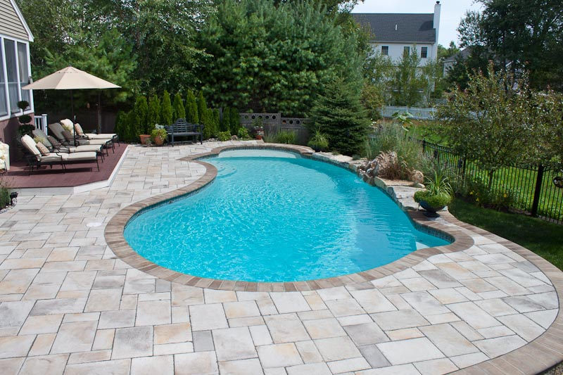 Paver Pool Deck   3