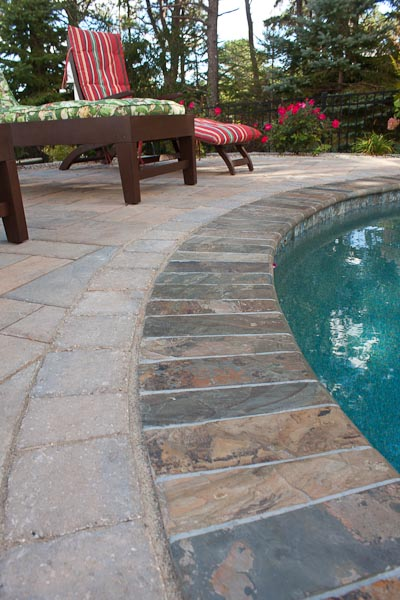 Swimming Pool Coping Styles : Pool design options northern spa me nh ma